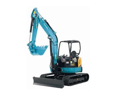 小型掘削機