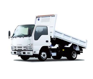 ダンプ・トラック・クレーン付